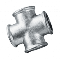 1.1/2″BSP Fem Equal Cross Galv  180 | FTM
