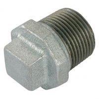 3/8″  BSPT Male Beaded Plug Galv Gf290G | George Fischer