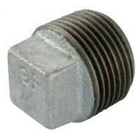 2″  BSPT Male Hollow Plug Galv Gf291G | George Fischer