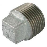 1/4″  BSPT Male Solid Plug Galv Gf291Sg | George Fischer
