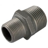 1/2″X3/8″  BSPTm Hex Nipple Black Gf245 | George Fischer