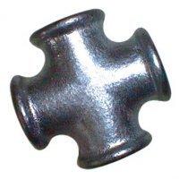 1.1/4″BSP Fem Equal Cross Black 180 | EE