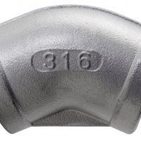 1/8 BSPP 45 F/F Elbow 150Lb 316SS