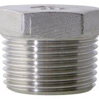 1/8 BSPT M Hex Head Plug 150Lb 316SS