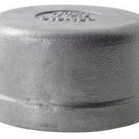 1/8 BSPP F Round Cap 150Lb 316SS